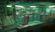 Sector 5 Undercity weapon shop artwork for FFVII Remake