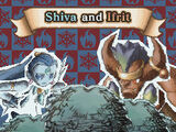 Shiva and Ifrit