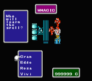 FFI NES White Magic Shop