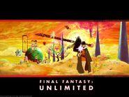 Final Fantasy Unlimited ADV panoramic wallpaper