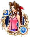 KHUX Illustrated Aerith 5★ Medal