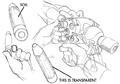 Magun firing concept 2 for Final Fantasy Unlimited