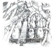 Nibel Reactor Interior FFVII Sketch