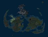 Highlighted on the World Map.