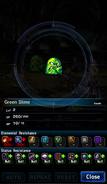 FFBE Green Slime Analyze