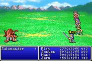 FFII Sun Blade GBA