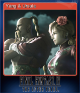 FFIV TAY Steam Card Yang & Ursula