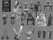 Burmecia Statues CG Art