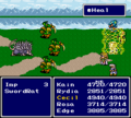 FFIV SNES Heal White