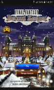 FFRK Christmas 2016 (2) Title Screen