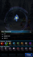 FFBE Blue Elemental Analyze 2