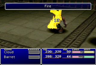Fire (Final Fantasy VII ability)