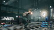 Final Fantasy VII Remake State of Play Barret Battle