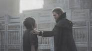 Final Fantasy XV Regis Talking To Noctis
