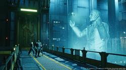 President Shinra Hologram in FFVII Remake.png