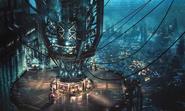 Sector 7 Pillar artwork for Final Fantasy VII Remake