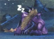 Behemoth FFX Sleeping