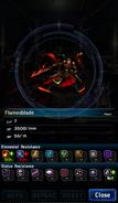 FFBE Flamesblade Analyze