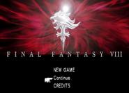 FFVIII Remastered title screen