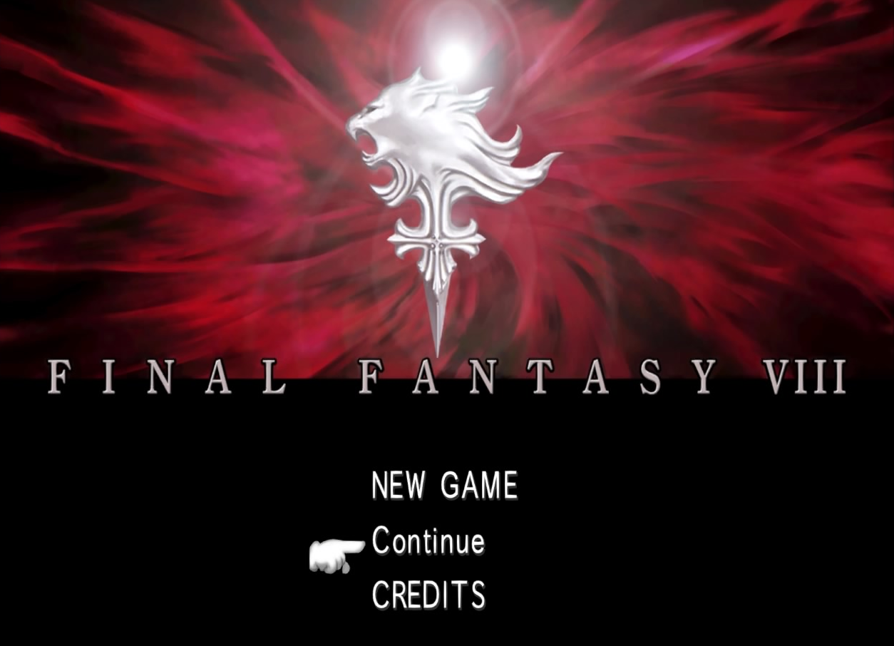 FFVIII Remastered title screen.png