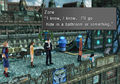 Zone disguised as an old man from FFVIII Remastered