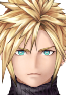 Cloud Strife from WotV render 2