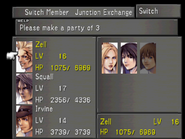 FFVIII Party Select Screen