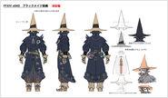 FFXIV Black Mage Gear Concept
