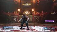 Barret Battle Stance from FFVII Remake