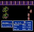 FFIII NES Attack