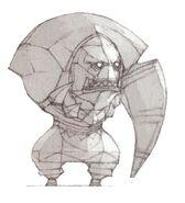 Orc Simulacrum FFXI Art
