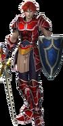 DFF2015 Warrior of Light 2nd Form