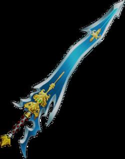 The Caladbolg in Dissidia Final Fantasy and Dissidia 012 Final Fantasy.