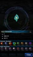 FFBE Aqua Elemental Analyze