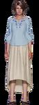 Jessie's mother from FFVII Remake render