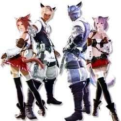 Raças jogáveis de Final Fantasy XIV