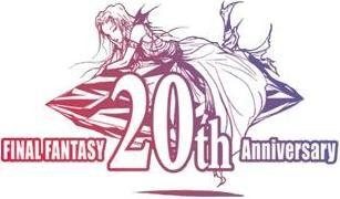 Princesa Sarah e um cristal no logo da versão 20th Anniversary.