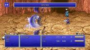 Cecil using Darkness from FFIV Pixel Remaster