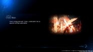 Cross-Slash loading screen from FFVII Remake