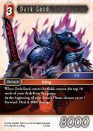 Dark Lord 6-016H from FFTCG Opus