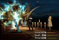 Edea uses Thundaga from FFVIII Remastered
