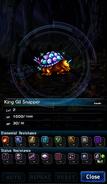FFBE King Gil Snapper Analyze