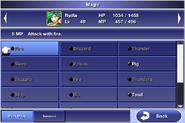 FFIV iOS Menu - Magic