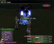 FFX-2 Candle of Life