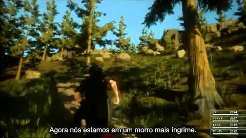 Final Fantasy XV - New Gameplay Walkthrough LEGENDADO PT-BR