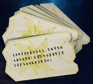 Guardian Angels Calling Cards from FFVII Remake
