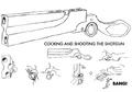 Kaze's shotgun firing concept for Final Fantasy Unlimited