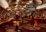 Laguna teaches a Moomba to talk from FFVIII Remastered