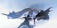 Melusine-FFXV-Battle