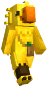Minecraft FFXV Chocobo Mascot